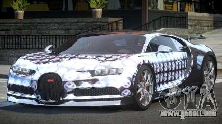 Bugatti Chiron ES L10 para GTA 4