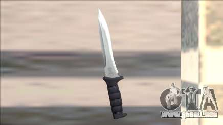 Resident Evil 4 leon knife para GTA San Andreas