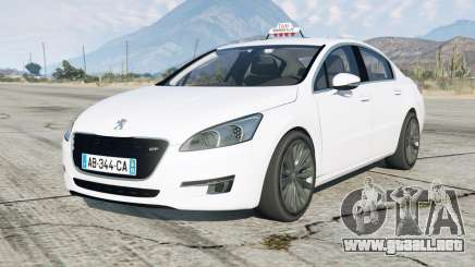 Peugeot 508 GT Taxi Marseille para GTA 5