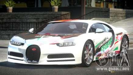 Bugatti Chiron ES L1 para GTA 4