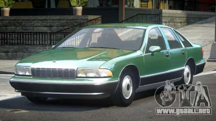 1993 Chevrolet Caprice R2 para GTA 4