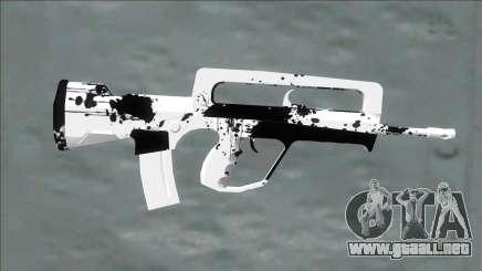 White Dirt (m4) para GTA San Andreas