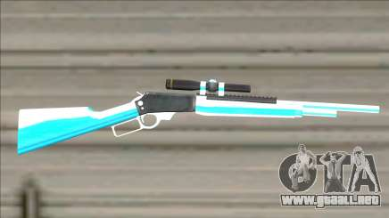 Weapons Pack Blue Evolution (cuntgun) para GTA San Andreas