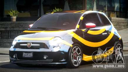 Fiat Abarth Drift L6 para GTA 4
