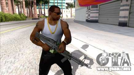 M60E4 Minigun para GTA San Andreas