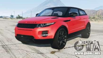 Range Rover Evoque 2012 para GTA 5