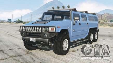 Hummer H2 6ᶍ6 para GTA 5