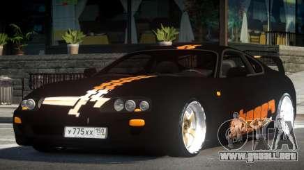 Toyota Supra RZ PJ3 para GTA 4