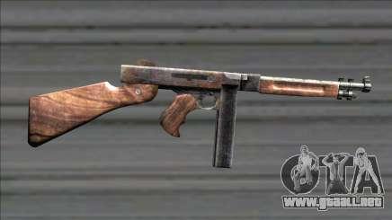 Resident Evil 4 chicago typewriter para GTA San Andreas