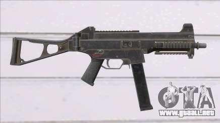 Fear the Wolves UMP-45 para GTA San Andreas