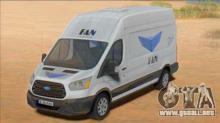 2020 Ford Transit - Fan Courier para GTA San Andreas