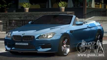 2018 BMW M6 F12 para GTA 4