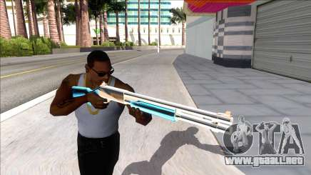 Weapons Pack Blue Evolution (chromegun) para GTA San Andreas
