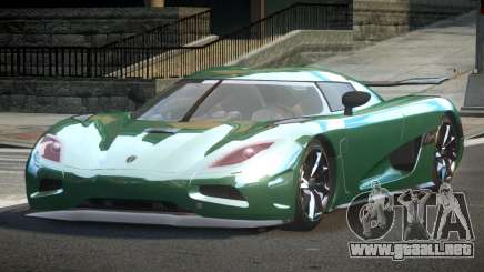 Koenigsegg Agera Racing para GTA 4