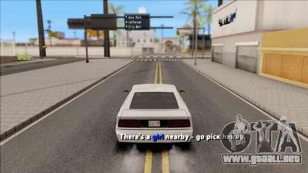 Pimp Sidemission para GTA San Andreas