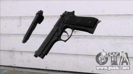 PUBG Beretta P92 para GTA San Andreas