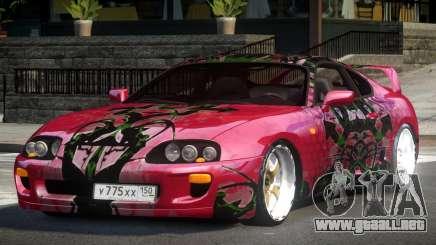 Toyota Supra RZ PJ4 para GTA 4