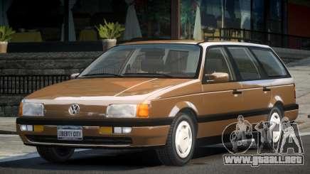 Volkswagen Passat B3 UL para GTA 4