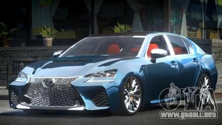 Lexus GSF ES Drift para GTA 4