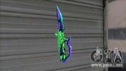 Deagle 3 Sinners Envy Knife para GTA San Andreas