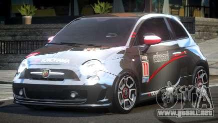 Fiat Abarth Drift L7 para GTA 4