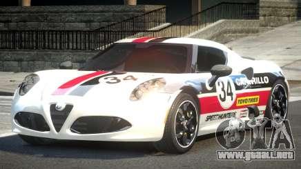 Alfa Romeo 4C R-Tuned L1 para GTA 4