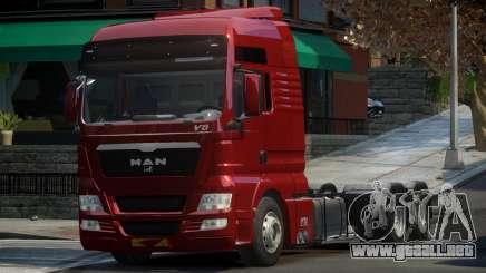 MAN TGX para GTA 4