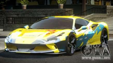 Ferrari F8 Tributo BS L10 para GTA 4