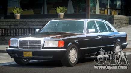 1993 Mercedes-Benz W126 para GTA 4