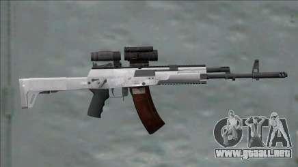 AK-12 White With Scope para GTA San Andreas