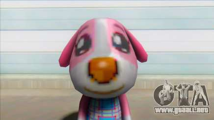 Animal Crossing Cookie Skin Mod para GTA San Andreas