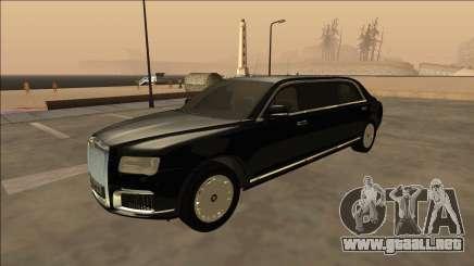 2018 Aurus Senat Limousine para GTA San Andreas