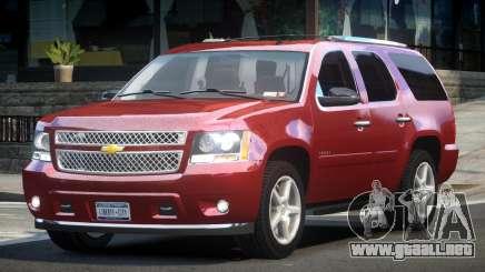 Chevrolet Tahoe GMT900 20-Inch para GTA 4