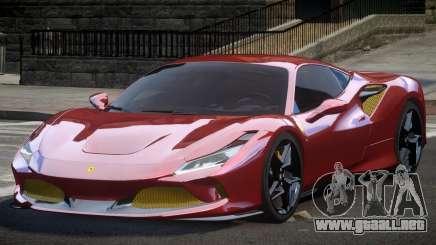 Ferrari F8 Tributo BS para GTA 4