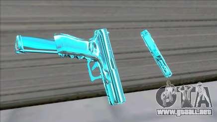 Weapons Pack Blue Evolution (colt45) para GTA San Andreas