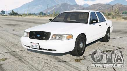 Ford Crown Victoria Undercover para GTA 5