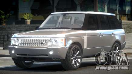 Range Rover Supercharged GS V1.0 para GTA 4