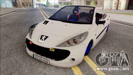 Peugeot 207 Crook para GTA San Andreas