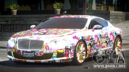 Bentley Continental GT Drift L6 para GTA 4