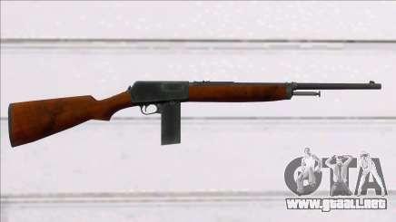 Screaming Steel Winchester M1907 para GTA San Andreas