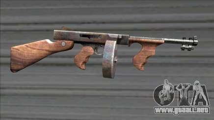 Resident Evil 4 chicago typewriter drum mag para GTA San Andreas