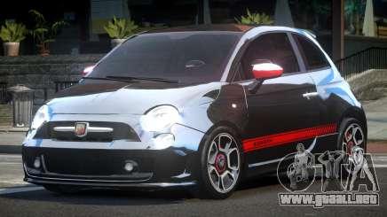 Fiat Abarth Drift para GTA 4