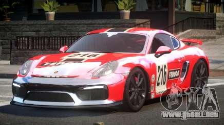 Porsche Cayman GT4 L1 para GTA 4