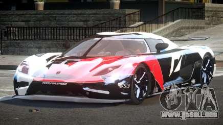 Koenigsegg Agera Racing L5 para GTA 4