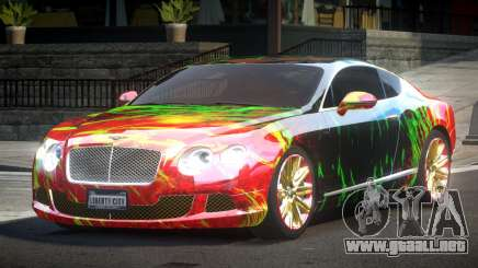Bentley Continental GT Drift L4 para GTA 4