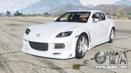 200Ꝝ Mazda RX-8 para GTA 5
