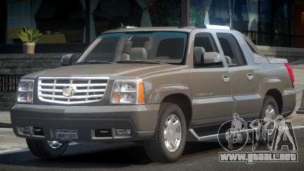 Cadillac Escalade PU para GTA 4