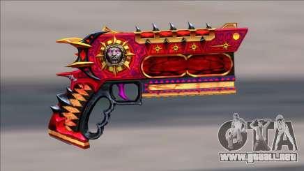 CrimsonHunter Combo Pistol para GTA San Andreas