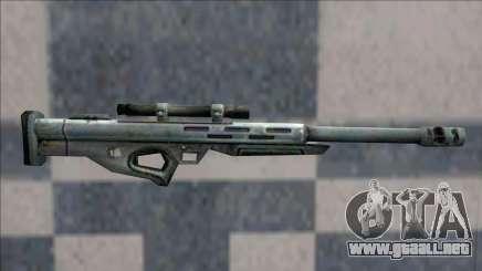 Half Life 2 Beta Weapons Pack Sniper Rifle para GTA San Andreas