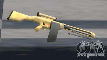 Half Life 2 Beta Weapons Pack Hmg1 para GTA San Andreas